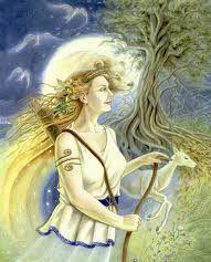 Artemisz azaz Diána Hold Istennő Artemisz Asztrológia Debrecen
