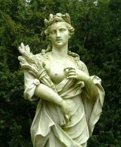Déméter azaz Ceres Hold Istennő Artemisz Asztrológia Debrecen