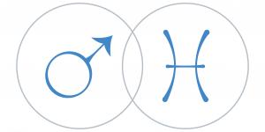 Mars a Halak csillagjegyben Artemisz Asztrológia Debrecen