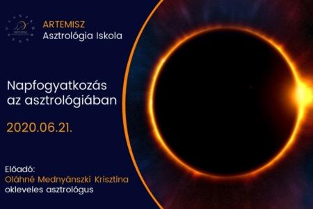 Napfogyatkozás az asztrológiában Artemisz Asztrológia Debrecen