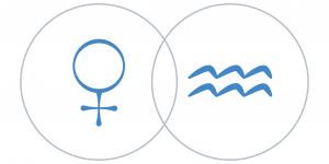 Vénusz a Vízöntő csillagjegyben Artemisz Asztrológia Debrecen