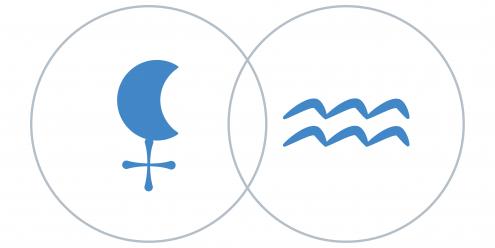 Lilith Fekete Hold a Vízöntő csillagjegyben Artemisz Asztrológia Debrecen