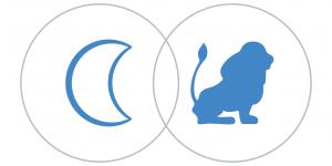 Oroszlán Hold a horoszkópban Artemisz Asztrológia Debrecen