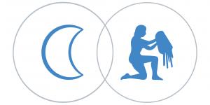 Vízöntő Hold a horoszkópban Artemisz Asztrológia Debrecen