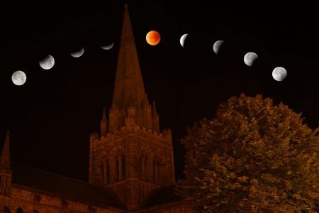 Részleges hold fogyatkozás teliholddal Artemisz Asztrológia Debrecen