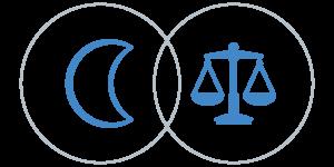 Mérleg Hold a horoszkópban - Artemisz Asztrológia