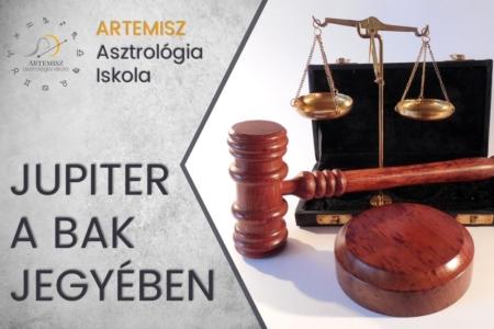Jupiter a Bak csillagjegyben Artemisz Asztrológia Iskola Debrecen