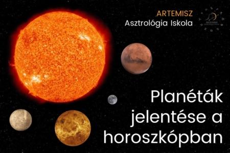 Planéták jelentése a horoszkópban Artemisz Asztrológia Debrecen