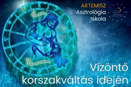 Vízöntő korszakváltás idején Artemisz Asztrológia Debrecen