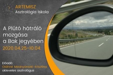 A Plútó hátráló mozgása a Bak jegyében Artemisz Asztrológia Debrecen