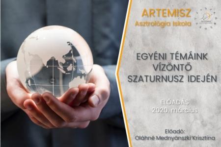 Egyéni témáink Vízöntő Szaturnusz idején Artemisz Asztrológia Iskola Debrecen
