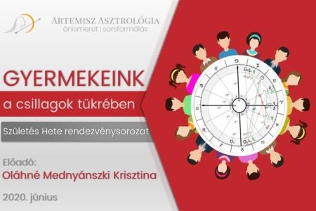 Gyermekeink a csillagok tükrében Artemisz Asztrológia Debrecen