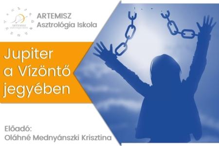 Jupiter a Vízöntő jegyében Artemisz Asztrológia Debrecen
