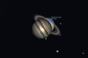 Szaturnusz és Jupiter együttállás a Vízöntő csillagjegyben Artemisz Asztrológia Debrecen
