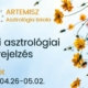 17. heti asztronaptár Artemisz Asztrológia Debrecen