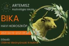 2021 Bika havi horoszkóp Artemisz Asztrológia Debrecen admin