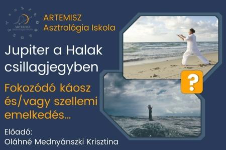 Jupiter a Halak csillagjegyben Artemisz Asztrológia Debrecen